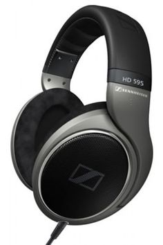 SENNHEISER HD595 OPEN HEADPHONES.  The HD 595 is a high-end, open, dynamic stereo headphone with outstanding sound characteristics and excellent wearing comfort.