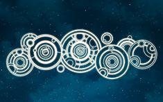 Doctor Whos Gallifreyan Name White Vinyl Decal 1125 by Stickerish Circular Gallifreyan, Doctor Who Wallpaper, Doctor Names, Doctor Who Fan Art, 11th Doctor, Don't Blink, Dr Who, White Vinyl, Mind Blown