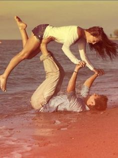this would be the cutest engagement photo!