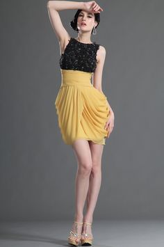 Sleeveless Overlace Cocktail Dress Party Dress