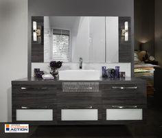 1000 images about notre portfolio salle de bain on for Peinturer un comptoir de salle de bain