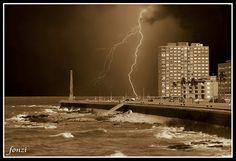 Montevideo - Tormenta de mar.   Flickr - Photo Sharing!
