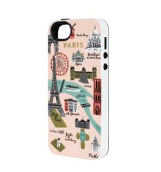 Pin for Later: 431 Truly Awesome Fashion Gifts For Everyone on Your List  Rifle Paper Co. Paris Map 5/5S iPhone Case ($36)