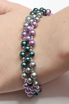 Fake pearl bracelet by AGoodBead on Etsy, $10.00
