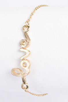 All For Love Bracelet - $14 - via Southern Charm Apparel