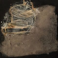 Mixed media on paper and wood - Ines Hildur