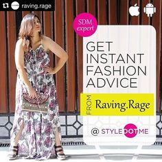 So excited to have @raving.rage on board as a fashion advisor  #Styledotme #instantfashionadvice #Repost #fashion #style #blogger