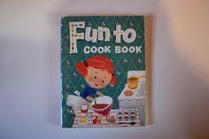Fun To Cook Book // Author Marjie Blake // c.1966 // $5.49