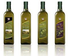 Concept prototypes for Olive Oil Bottles. Label Design, Packaging Design, Branding Design, Ui Design, Dove And Olive, Olive Oil Packaging, Edible Oil, Olive Oil Bottles, Cooking Oil