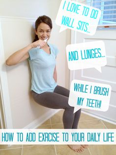10 easy exercises to add to your daily life