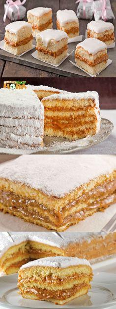 Bolo Bem Casado, aka Brazilian Wedding Cake Looks scrumptious, but needs translation Sweet Recipes, Cake Recipes, Dessert Recipes, Love Eat, Love Food, Cake Cookies, Cupcake Cakes, Gateau Cake, How Sweet Eats