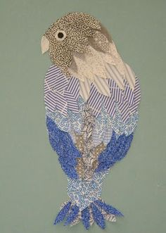 homework: creative inspiration for home and life: Inkling: security envelope bird Recycled Paper Crafts, Newspaper Crafts, Bird Crafts, Recycled Art, Recycled Magazines, Envelope Pattern, Envelope Art, Security Envelopes, Magazine Collage