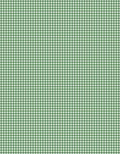 green checkered cloth or paper