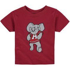 Toddler Crimson Alabama Crimson Tide Big Logo T-Shirt