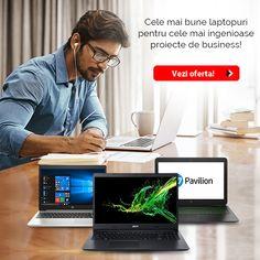 Alege laptopul dorit pentru proiectele tale! Vezi oferta! Doritos, Pavilion, Laptops, Notebook, Deck Gazebo, Sheds, Laptop, Gazebo, The Notebook