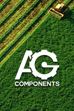 Logo design for Agriculture Components. #AG #Components #Logo #Identity #Corporate #Emblem