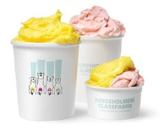 20 packagings molones de helado