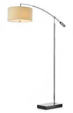 ZAR49 + ZAR1633 Zaragoza Floor lamp with Cream Shade