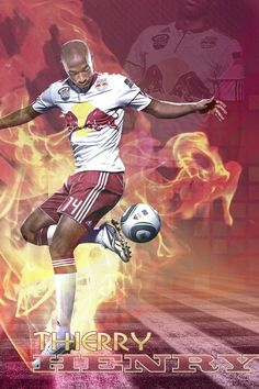 One of the best soccer players of all time Theirry Henry #soccer #poster