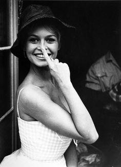 Brigitte Bardot by Jean Barthet