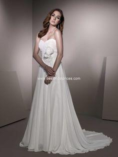 Ella Rosa Gallery Wedding Dresses - Style GA2208  My wedding dress BEFORE all my customizations :)