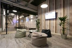 A Tour of Techspace's Cool New London Coworking Campus - Officelovin'