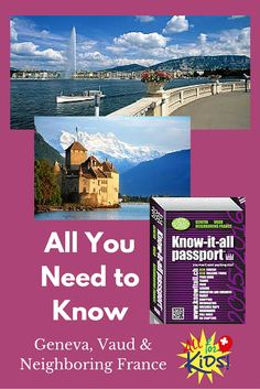 Book Sites, Know It All, Geneva, Passport, This Book, France, Books, Kids, Young Children