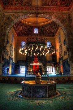 Green Mosque, Bursa, Turkey  Such great memories from this trip.