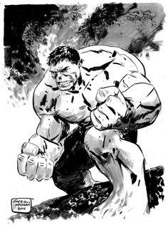 The Hulk by Gabriel Hardman