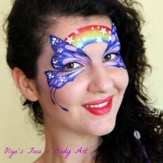 Olga Murasev — professional face painter and body artist, international instructor and judge, the founder of the International Face Painting School