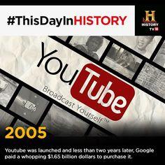 Accadde oggi: nel 2005 viene fondato il sito youtube a cura di Giovanna Longobardi - http://www.vivicasagiove.it/notizie/accadde-oggi-nel-2005-viene-fondato-il-sito-youtube/