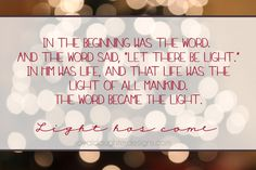 The Meaning of Christmas typography with bokeh Christmas Lights background via royaldaughterdesigns.com