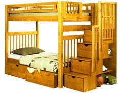 Bunk Bed World Mfg :: West Springfield, MA :: Bunk Beds, Unfinish Furniture, Futons, Mattresses at Wholesale Prices