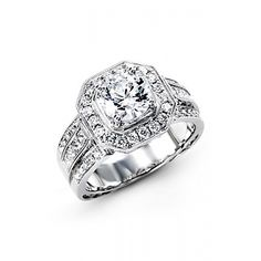 #SimonG Engagement Rings NR109 is an exquisite piece from Simon G collection.