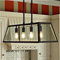 Canopy Glass Island Chandelier