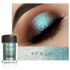 FOCALLURE Loose Glitter Eye Shadows #EyeMakeupGlitter