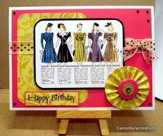 Canonburycreations: Birthdays