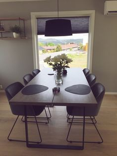 Homemade dining table✨