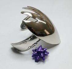 Nostalgische Silber-Armspange  Silberbesteck AB306 von Atelier Regina  auf DaWanda.com