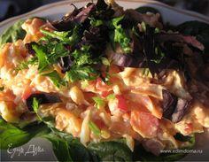 Пикантный салат с тыквой