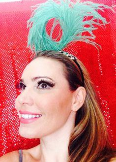 Acessório Carnaval 2014. Modelo Mariana Agnelli.