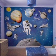 Walltastic 3D behang Ruimtekamer