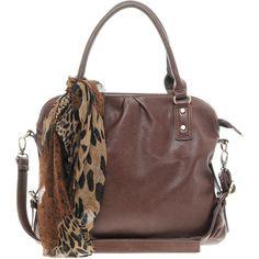 Oasis Leopard Scarf Shoulder Bag ($64) found on Polyvore