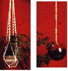 Knopen 2 Plant Hanger, Tips, Plants, Decor, Decoration, Plant, Decorating, Planets, Deco
