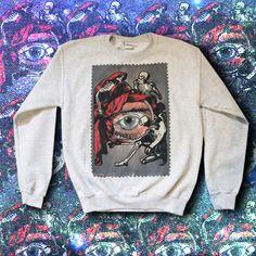 All seeing eye sweater | We ship worldwide