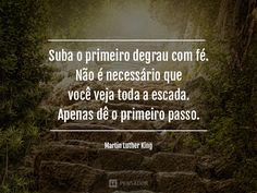 Não desista!