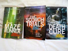 The Maze Runner Series. Books.