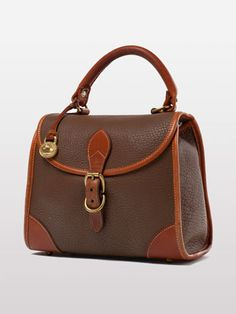 Vintage Dooney & Bourke Small Satchel Bag