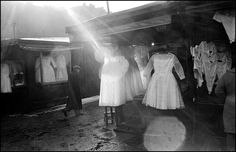 Wedding dresses on the market. Inge Morath, Gelatin Silver Print, Photography Workshops, Magnum Photos, Light And Shadow, Street Photography, In This Moment, Wedding Dresses, Warsaw Poland