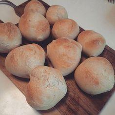 Pinを追加しました!/丸パン風 #bread #cooking #ER #ハードブレッド